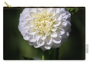 Dahlia White Flowers II Carry-all Pouch
