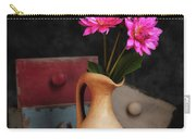 Dahlias And Drawers Carry-all Pouch