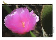 Dainty Pink Cactus Flower Carry-all Pouch