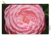 Dainty Pink Camellia Carry-all Pouch