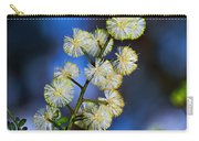Dainty Wildflowers On Blue Bokeh By Kaye Menner Carry-all Pouch