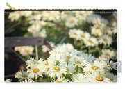 Daisies And A Hand Plow Carry-all Pouch