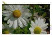 Daisies By The Number Carry-all Pouch