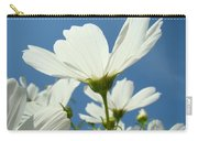 Daisies Floral Art Prints Canvas Daisy Flowers Blue Skies Carry-all Pouch