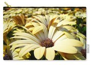 Daisies Flowers Landscape Art Prints Daisy Floral Baslee Troutman Carry-all Pouch