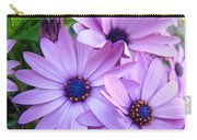 Daisies Lavender Purple Daisy Flowers Baslee Troutman Carry-all Pouch