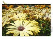 Daisies Yellow Daisy Flowers Garden Art Prints Baslee Troutman Carry-all Pouch