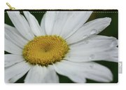 Daisy And Raindrops Carry-all Pouch
