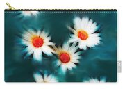 Daisy Blue Carry-all Pouch