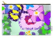 Daisy Callico Carry-all Pouch