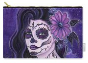 Daisy Day Of The Dead Carry-all Pouch