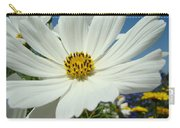 Daisy Flower Garden Artwork Daisies Botanical Art Prints Carry-all Pouch