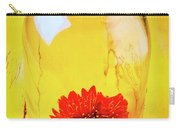 Daisy In Glass Jar Carry-all Pouch