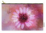 Daisy In Magenta Carry-all Pouch