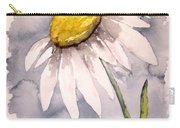 Daisy Modern Poster Print Fine Art Carry-all Pouch