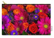 Daisy Rose Bouquet Carry-all Pouch