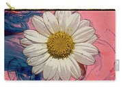 Daisy Swirls 1 Carry-all Pouch