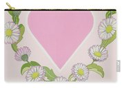 Daisy Valentine Carry-all Pouch