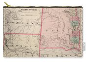 Dakota And Wyoming Carry-all Pouch