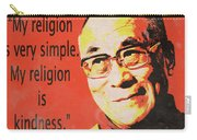 Dalai Lama Quote Carry-all Pouch
