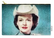 Dale Evans, Vintage Hollywood Star Carry-all Pouch