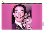 Dali With Ocelot And Cane Carry-all Pouch