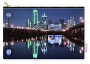 Dallas Dark Blue Night Carry-all Pouch