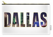 Dallas Letters Transparency 013018 Carry-all Pouch