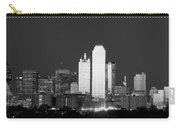 Dallas Skyline Bw 113017 Carry-all Pouch