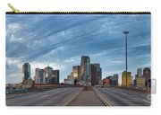 Dallas View At Dusk Carry-all Pouch