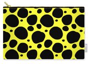 Dalmatian  Black Pattern 05-p0173 Carry-all Pouch