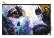 Dalmatian Dog Painting Carry-all Pouch