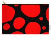 Dalmatian Pattern With A Black Background 02-p0173 Carry-all Pouch
