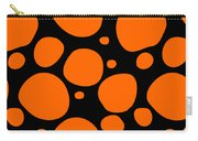 Dalmatian Pattern With A Black Background 03-p0173 Carry-all Pouch