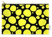 Dalmatian Pattern With A Black Background 05-p0173 Carry-all Pouch