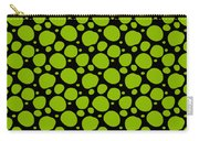 Dalmatian Pattern With A Black Background 09-p0173 Carry-all Pouch