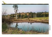 Dam At Sunset Landscape Carry-all Pouch