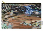 Dam Beavers Carry-all Pouch by Phil Chadwick