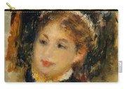Dame En Toilette De Ville 1875 Carry-all Pouch