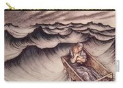 Danae And Her Son Perseus Put In A Chest And Cast Into The Sea Carry-all Pouch