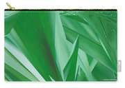 Dance Of Green Leaves Carry-all Pouch