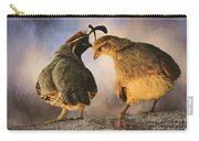 Dance Of The Quail Carry-all Pouch