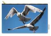 Aerial Dance Of The Seagulls Carry-all Pouch