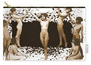 Dance Of The Seven Nudes Carry-all Pouch