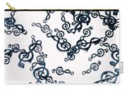Dance Of The Treble Clef  Carry-all Pouch
