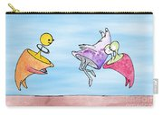 Dance Party Monsters Watercolor Carry-all Pouch