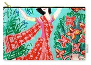 Dancer In Red Sari Carry-all Pouch
