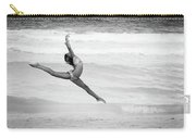 Dancer On Beach Carry-all Pouch