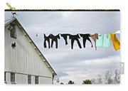 Dancing Amish Laundry Carry-all Pouch