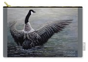 Dancing Canada Goose Carry-all Pouch